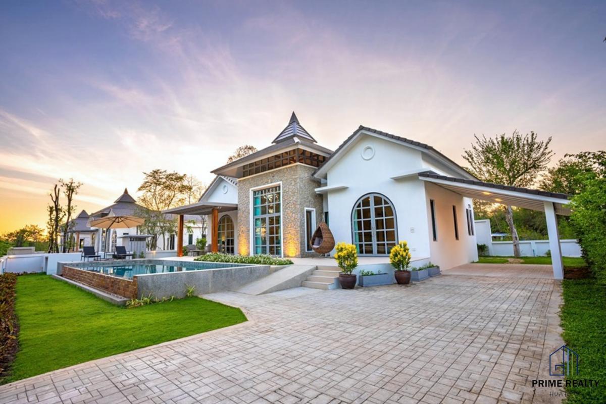 ขายบ้านชะอำ หัวหิน : 🌴Hua Hin Modern Pool Villa Resort Style For Sale 🏡ขายบ้านหัวหินสไตล์รีสอร์ท