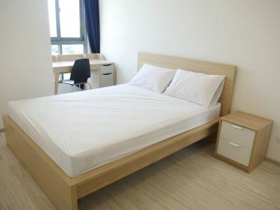 เช่าคอนโดบางนา แบริ่ง : ให้เช่าคอนโด โมบิ อีสเกตุ ติดบีทีเอส บางนา Ideo mobi eastgate 1 bedroom for rent (100 m. To BTS Bangna Station) 19th floor Fully furnished.