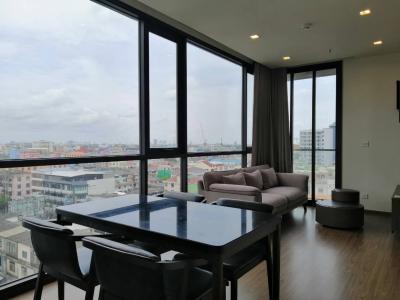 For RentCondoOnnut, Udomsuk : ๋J002 The Line Sukhuvmit 71 for rent 2 bedroom 25,000 baht/month