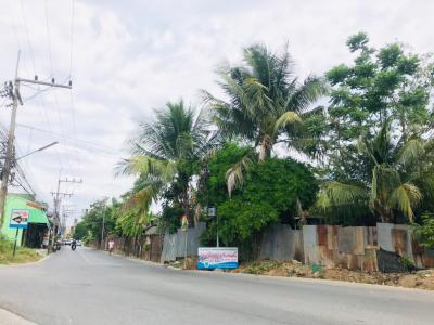 For SaleLandHatyai Songkhla : Land for sale in the heart of Hat Yai, size 6 rai, Petchkasem Rd.
