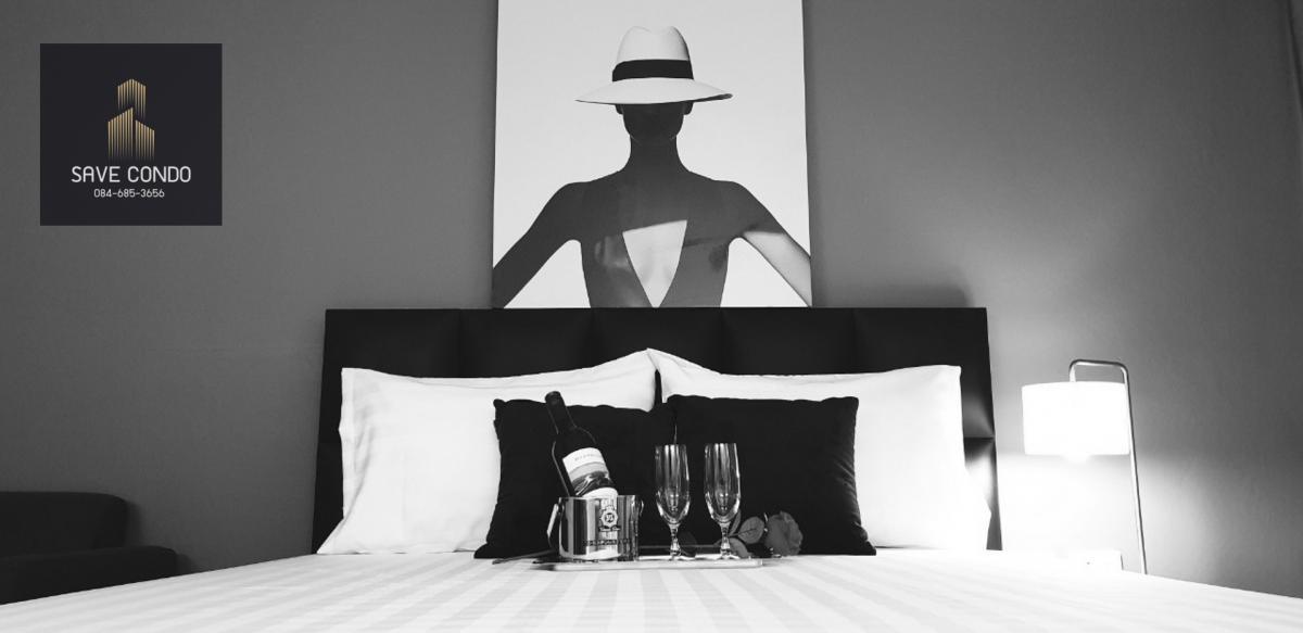 เช่าคอนโดพระราม 9 เพชรบุรีตัดใหม่ : ให้เช่า Room for Modern Woman คอนโด I-House Laguna RCA วิวสวย ตบแต่งใหม่ พร้อมเฟอร์นิเจอร์ ฟรีค่าส่วนกลาง