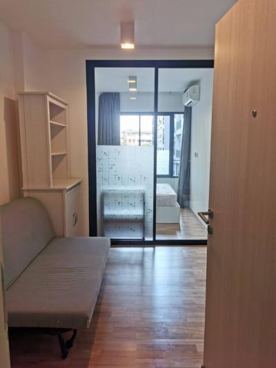 For RentCondoSamrong, Samut Prakan : Condo for rent The Cabana near bts Samrong 1 Bedroom 7,500 / Month