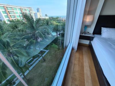 For SaleCondoHua Hin, Prachuap Khiri Khan, Pran Buri : For Sale Amari Residence Hua Hin, 1BR pool and sea view 50.84sqm 5MB
