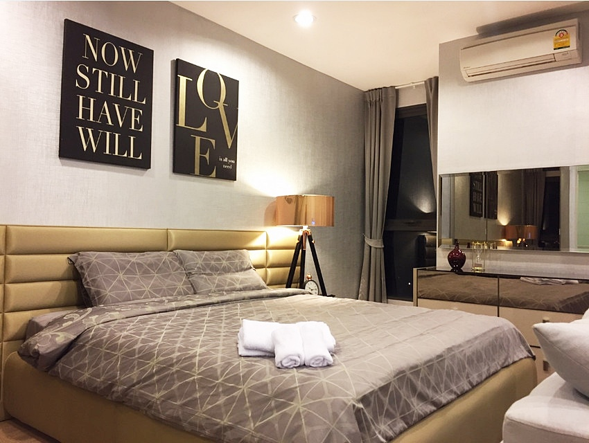 For SaleCondoRatchathewi,Phayathai : Condo Ideo Q Ratchatewi @BTS Ratchathewi 34 sq.m 1Bed 14th floor Clear View Facing East, Fully furnished