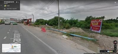 For SaleLandEakachai, Bang Bon : [Sell / rent] Land on the main road, Kanlapaphruek Road