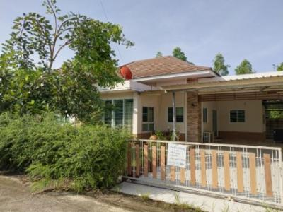ขายบ้านระยอง : บ้านเดี่ยว 83 ตรว 3 นอน 2 น้ำ หมู่บ้านชบา ใกล้ทะเล บ้านฉาง