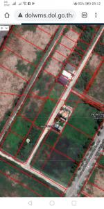 For SaleLandOnnut, Udomsuk : Land for sale, 349 sq.w. in front of Suan Luang Rama 9, more beautiful than this