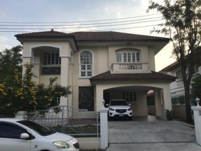For RentHouseBang kae, Phetkasem : 2 storey detached house to rent, 120 sq.w. near The Mall Bang Khae Close to Kanchanaphisek Road