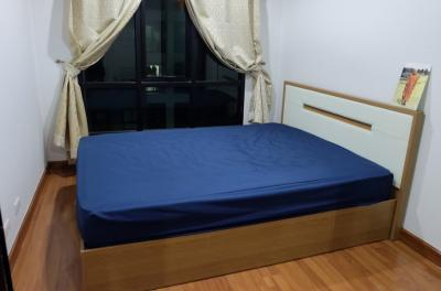 For RentCondoVipawadee, Don Mueang, Lak Si : For Rent Condo Regent Home 18 Changwattana (30 sq.m/High floor) @Central Plaza Ramindra, Nice View, Fully furnished
