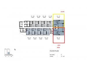 ขายคอนโดวงเวียนใหญ่ เจริญนคร : ขาย แชปเตอร์เจริญนคร ห้อง Riverfront  ตึก A ตำแหน่ง 01,02  ตำแหน่งหายาก