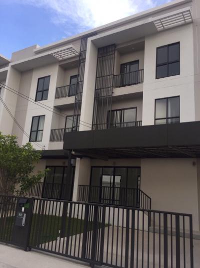 ขายบ้านพัฒนาการ ศรีนครินทร์ : ทาวน์โฮม ที่ดินขนาด 69 ตรว กรุงเทพกรีฑา บ้านใหม่ไม่เคยอยู่อาศัย ราคาถูกกว่าท้องตลาด