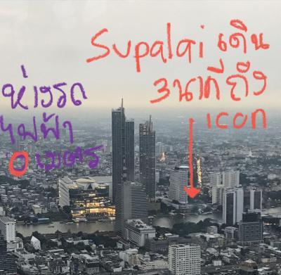 ขายคอนโดวงเวียนใหญ่ เจริญนคร : 🔥🔥 Supalai Iconsiam ราคาดีสุดในละแวก 1 Bed-34.5 ตรม.= 128kb/ตรม. ห่างสถานีรถไฟฟ้า 0 มติดห้าง iconsiam น่าอยู่ แบบเก๋ไก๋ เดินแค่ไม่กี่ก้าวก็มีทั้งของแพง และ street food ท่าดินแดง