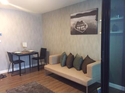 For RentCondoNawamin, Ramindra : For rent, Esta Bliss, 2 bedroom, 4th floor, pool view, Building C