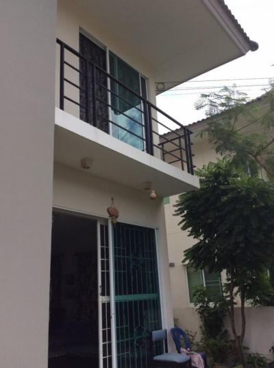ขายบ้านสำโรง สมุทรปราการ : ขายบ้านเดอะทรัสต์ บ้านแฝด 39 ตรว ศรีนครินทร์ แพรกษาพร้อมอยู่