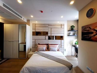 For RentCondoSukhumvit, Asoke, Thonglor : Ashton ASOKE 1 bed 34 sqm ROOM is High Floor Center of BKK 35K