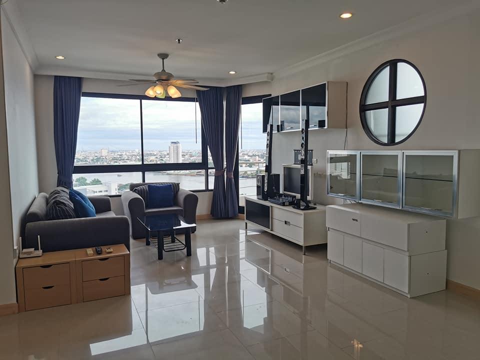ขายคอนโดพระราม 3 สาธุประดิษฐ์ : ถูกมาก!!!ขายคอนโด Supalai Casa Riva Vista 2 Size 114.07sqm.(2Bedroom/2Bathroom) F.2x ในราคา ตรมละ 6x,xxx เท่านั้น