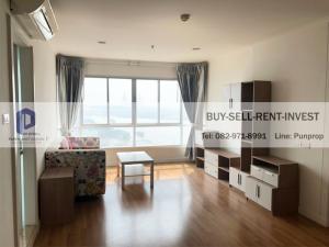 For RentCondoRama3 (Riverside),Satupadit : ให้เช่า! ลุมพินี พาร์ค ริเวอร์ไซด์-พระราม 3 อาคาร A ชั้นสูง วิวแม่น้ำ 2นอน 21,000 บาท/เดือน