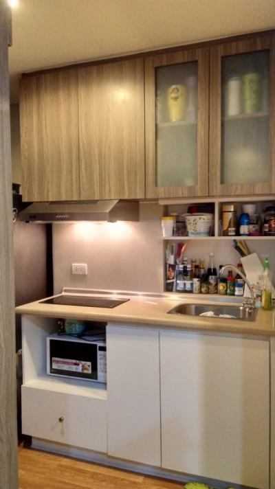 For SaleCondoSamrong, Samut Prakan : Urgent sale !! Fully furnished built-in room Never renting out yourself. Cheap