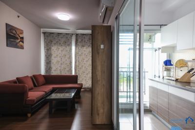 เช่าคอนโดเชียงใหม่-เชียงราย : มีเตียงเด็ก สองชั้น ศุภาลัย มอนเต้ 2 Supalai Monte II ชั้น 12  64 ตรม 2 ห้องนอน