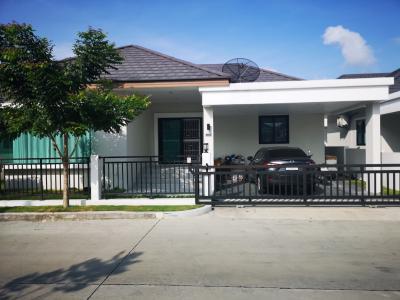 For SaleHouseRayong : House for sale in SC Hill, Wang Khaeng, Pluak Daeng, 50.8 sq.m.
