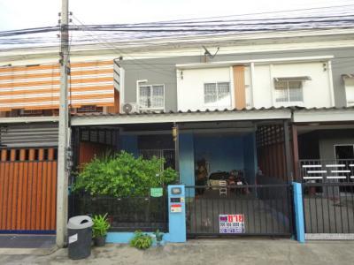 For SaleTownhouseRangsit, Patumtani : ขายทาวน์เฮ้าส์ ม.พฤกษา รังสิต บางพูน โซนด้านหน้า ใกล้ทางด่วน รถไฟฟ้า ห้างฯ ตลาด