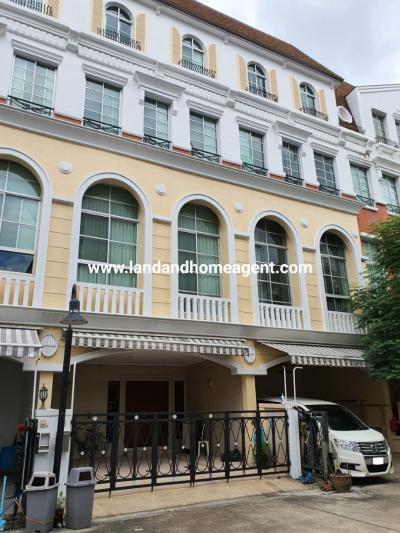 For SaleTownhouseRama3 (Riverside),Satupadit : House for sale in the center of Sathorn-Narathiwat Large townhome near Sathorn, near Central Rama 3