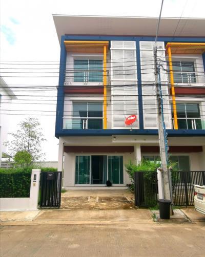 For SaleTownhouseVipawadee, Don Mueang, Lak Si : 3-storey townhome for sale, 33.5 sq m, Chuan Chuen Modus - Vibhavadi Next to the main road Vibhavadi - Rangsit