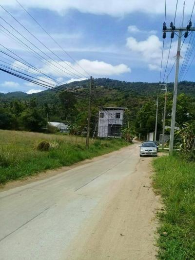 For SaleLandSurat Thani : Land for sale, 2 rai 2 ngan 20 square wah, Soi Jariya, Thawi Rat Phakdi Road, Mae Nam Subdistrict, Koh Samui District, Surat Thani Province