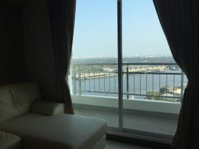 For RentCondoRama3 (Riverside),Satupadit : Condo for rent Supalai Prima Riva Rama 3 Size: 44 sqm (1Bedroom) at 20,000 baht / month
