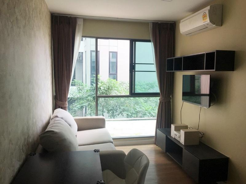 For SaleCondoVipawadee, Don Mueang, Lak Si : For Sale Condo Esta Phahol-Sapanmai @BTS Sai Yut, 34 sq.m 2Beds 3rd floor, Facing North, Fully furnished