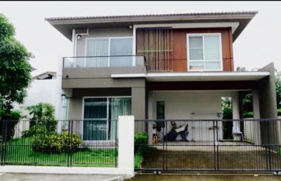 For RentHousePattanakan, Srinakarin : House for rent in Siwalee Village, Bang Na  🏡 By Land and House  Rent 35,000 baht / month