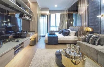 Sale DownCondoRatchathewi,Phayathai : [Owner] Park Origin Phayathai: Sell the Reservation THB 38,888 + down payment THB 607,200, free of charge for rights and owner name changes, only 250 meters to Phayathai bts and airport link also only 2 BTS stations to Siam. Price can be negotiated