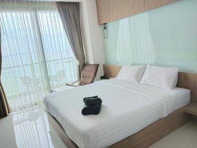 For SaleCondoChonburi, Pattaya, Bangsa : Sell / Rent The Riviera Wong Amat Beach 31.63 sq. M.