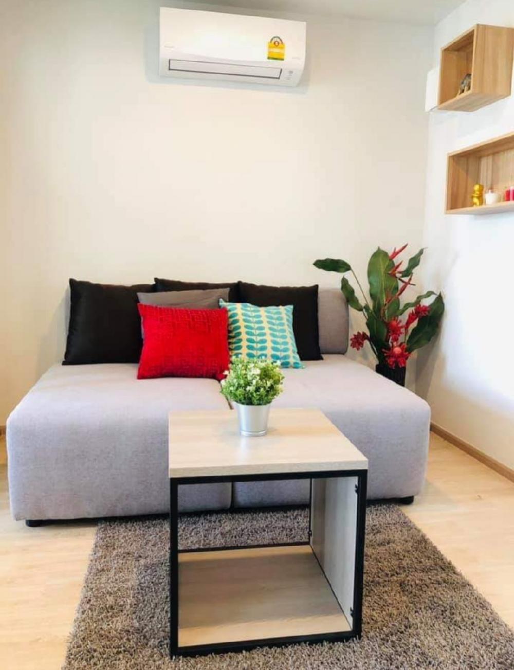 Elio Del Moss ห้อง1Bedroom ให้เช่า แต่งสวย ใหม่ Fully Furnished ชั้น8  ใกล้ม.เกษตร