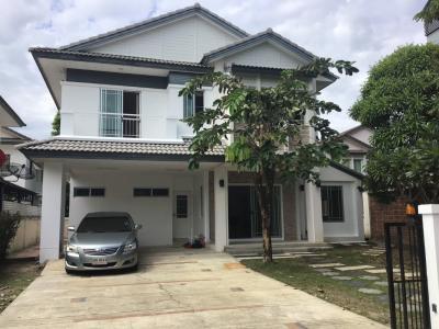 For RentHouseRama5, Ratchapruek, Bangkruai : House for rent near Manthana Village, The Walk, Rama 5 Circle