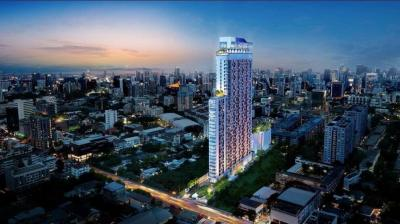 Sale DownCondoSukhumvit, Asoke, Thonglor : Sale Down Payment, Promotion XT Ekkamai 1 Bedroom (Corner) Best Price in the Building
