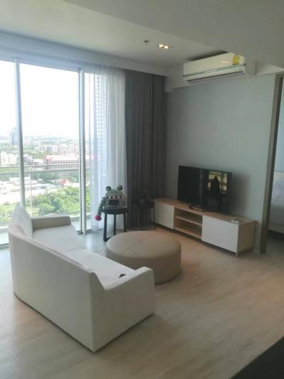 For SaleCondoChonburi, Pattaya, Bangsa : Veranda Residence Pattaya, 2 bedrooms, sea view, fully furnished