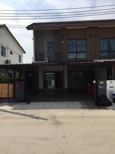 For RentTownhouseLadkrabang, Suwannaphum Airport : ให้เช่าทาวน์เฮ้าส์ พฤกษา 86 เฟส 3 3ห้องนอน 2 ห้องน้ำ แอร์3 ตัว เฟอร์ครบ ใกล้ตลาดศรีวารีน้อย ซอยลาดกระบัง 54 ใกล้สนามบินสุวรรณภูมิ+แอรพอตลิงค์