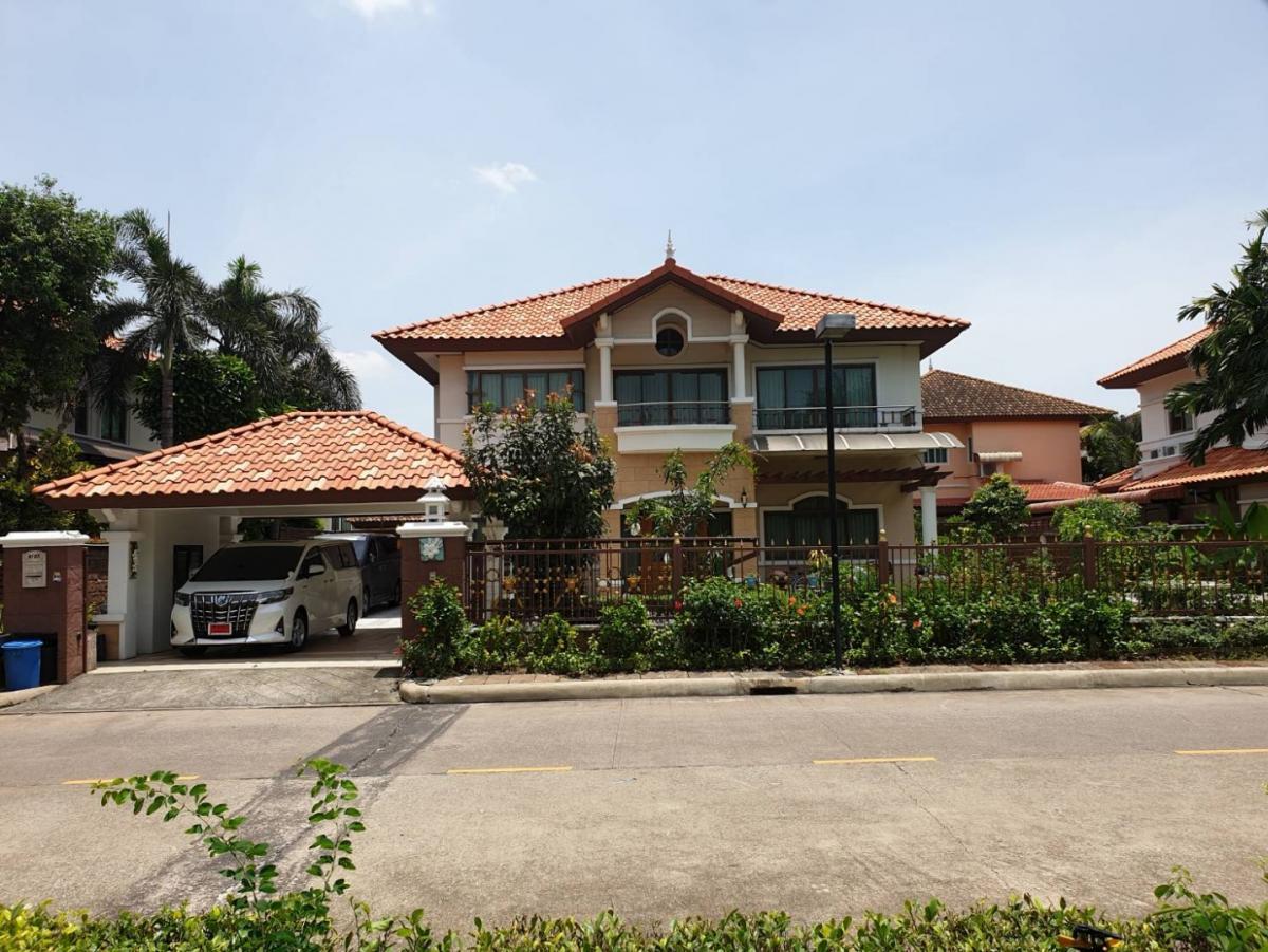For SaleHouseLadkrabang, Suwannaphum Airport : ขายบ้านเดี่ยว ในโครงการศุภาลัย การ์เด้นวิลล์ สุวรรณภูมิ ใกล้สนามบินสุวรรณภูมิ