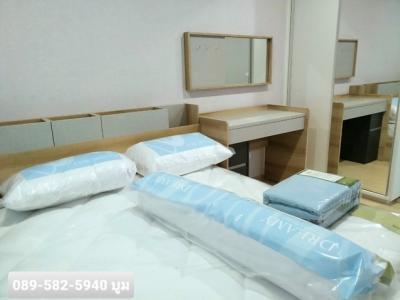 เช่าคอนโดปิ่นเกล้า จรัญสนิทวงศ์ : ห้องใหม่ให้เช่าPlumปิ่นเกล้า 1นอน28ตร.ม. เฟอร์+เครื่องใช้ไฟฟ้าครบ 9,500บ./ด.