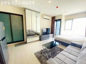 For RentCondoSukhumvit, Asoke, Thonglor : For Rent - Rhythm Sukhumvit 36 - 38 Studio 24 sqm. 12Ath Floor 15,000 baht/Month Only 300 m to BTS Thonglor