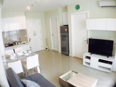 เช่าคอนโดพระราม 9 เพชรบุรีตัดใหม่ : For Rent TC Green Rama 9 ( 40 square metres )