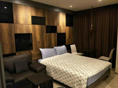 For RentCondoRatchadapisek, Huaikwang, Suttisan : Rhythm Asoke 1 - RENT Studio 22.5 Sqm  High Floor  13,000 THB
