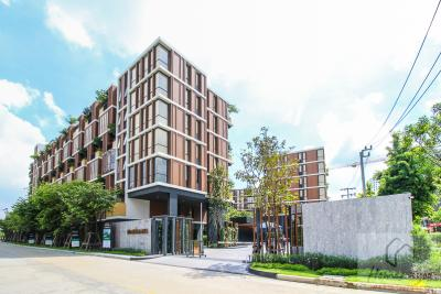 For SaleCondoOnnut, Udomsuk : The cheapest sale in the 1 bed 46 sq.m. project Mori House Onnut Resort Condo. Only 5 minutes to BTS On Nut.