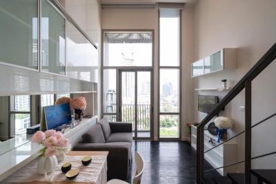 เช่าคอนโดสุขุมวิท อโศก ทองหล่อ : Pet friendly studio duplex for rent at Ideo morph sukhumwit 38 by owner (agent welcome )