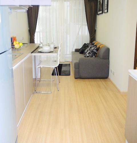 For RentCondoRattanathibet, Sanambinna : AA61-0005 Lutino Condominium (Nonthaburi) for rent, Lutino Condo, fully furnished, set