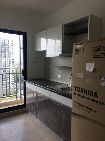 For RentCondoChengwatana, Muangthong : For rent, Supalai Loft, only 8000 baht (actual price, room is still available)
