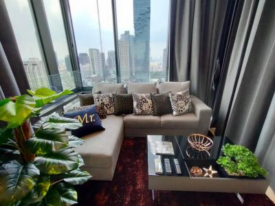 For RentCondoSilom, Saladaeng, Bangrak : Aston Silom Ready to Move in: Brand New 2bed 2 bathrooms, fully furnished, unblocked View, Close to BTS Chong Nonsi.
