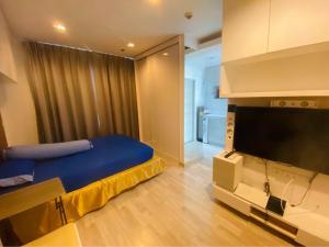 เช่าคอนโดพระราม 9 เพชรบุรีตัดใหม่ : ให้เช่า คอนโด ไอดีโอ โมบิ พระราม9 (Ideo Mobi Rama 9) ชั้น 20 ขนาด 22 ตร.ม ห้อง สตูดิโอ  ราคา 11,000 บาท /เดือน