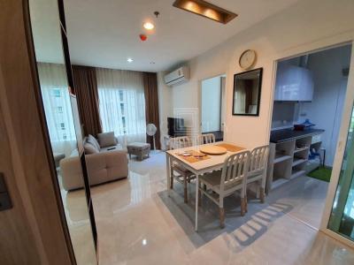 เช่าคอนโดสำโรง สมุทรปราการ : For Rent Aspire Erawan ( 48 square metres )
